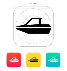 Boat icon vector