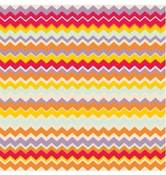 Chevron seamless colorful pattern tile background vector image