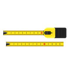 Creative of tape measure vector