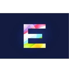 E letter logo icon symbol vector image