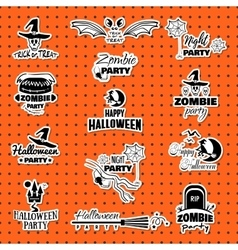 Happy Halloween Collection vector