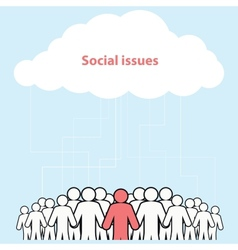 Human resource concept vector