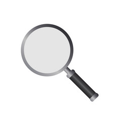 magnifying glass logo icon design template vector image
