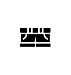 shorts icon vector image