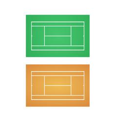 tennis court background vector image