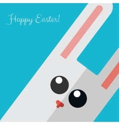 Vetor happy Easter card vector image