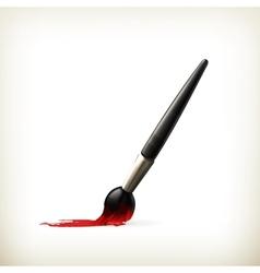 Paintbrush vector image