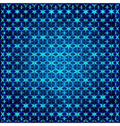 blue square abstract background vector image vector image