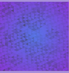 abstract violet mosaic background polygonal vector image