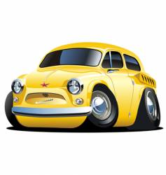 cartoon car vector image