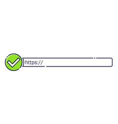 Creative of http https vector