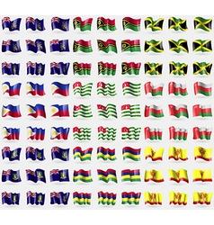 Georgia and Sandwich Vanuatu Jamaica Philippines vector