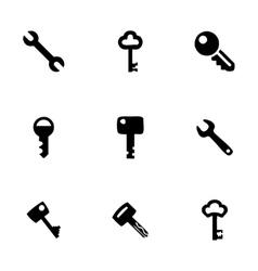 key icon set vector image