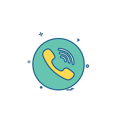 Media network social viber icon design vector