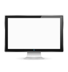 Monitor vector image vector image
