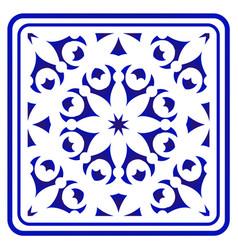 Porcelain pattern vector