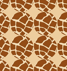 Seamless pattern of circles vector