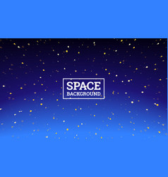 space background alien spaceman robot rocket and vector image