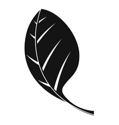 Spinach leave icon simple style vector