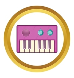 Synth icon vector image