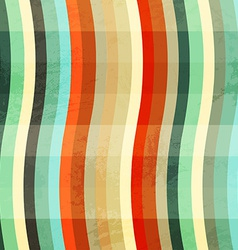 curve colored grunge seamless vector image vector image