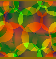 abstract seamless background of apple and orange vector image