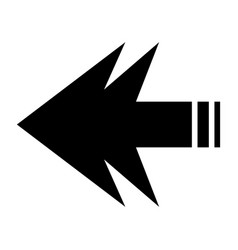 arrows forward vector image