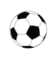 football layout vector image