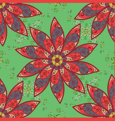 For print on fabric textiles sketch vintage vector