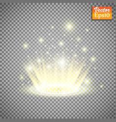 magic fantasy portal futuristic teleport light vector image