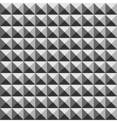 Pyramid geometric seamless pattern vector image