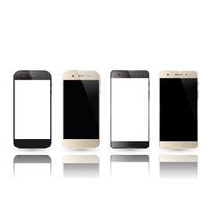 Smartphone blank screen vector