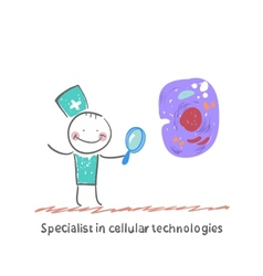 Specialist in cellular technologies is looking vector