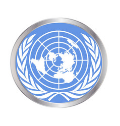 United nations emblem vector