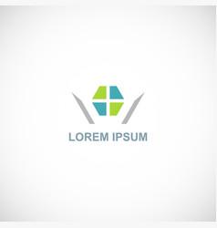 window color logo vector image