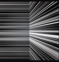 Abstract warped grey stripes background vector image