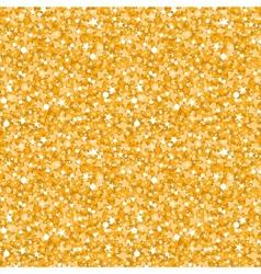golden shiny glitter texture seamless pattern vector image