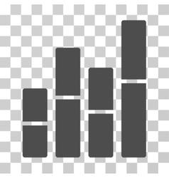 Bar charts icon vector