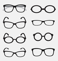 group of an Glasses vector image