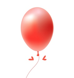 beautiful balloon vector image