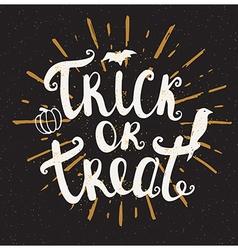 Black Halloween background vector image
