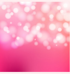 bokeh silver and white sparkling lights festive vector image