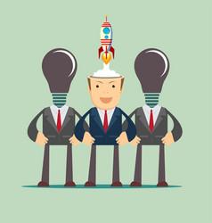business idea start up concept vector image