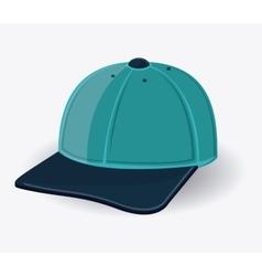Cap cloth accesory design vector