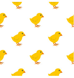 Chick pattern seamless vector