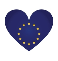 emblem of the European Union vector image