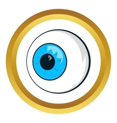 Eyes icon vector image
