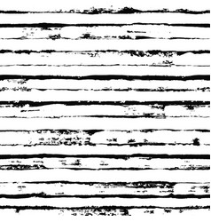 Irregular black striped pattern seamless hand vector