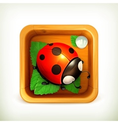 Little pet icon vector image