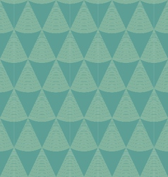 seamless pattern with triangles vector image